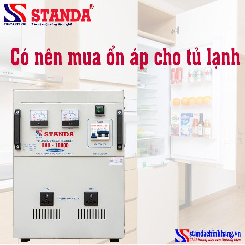 Giá ổn áp tủ lạnh