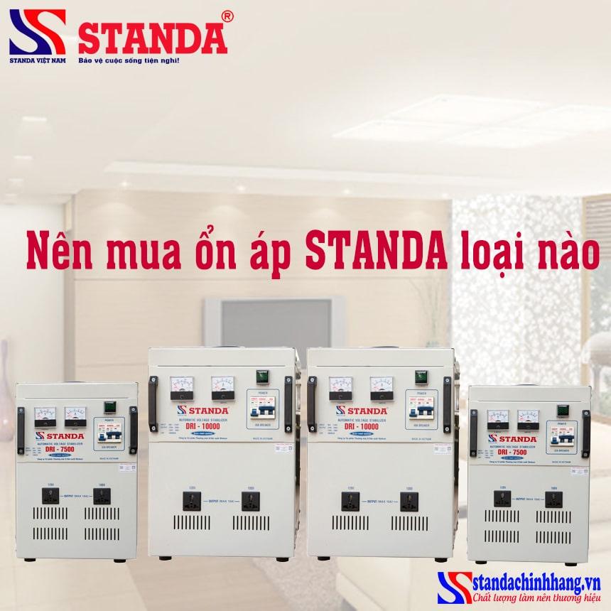 Nên mua ổn áp STANDA loại nào tốt nhất? Cách chọn ổn áp standa phù hợp nhất
