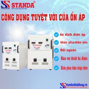 Công dụng của ổn áp với thiết bị điện
