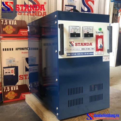 Biến áp cách ly Standa 7.5 KVA 2 pha dây đồng ( sản phẩm đặt)