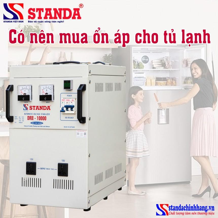 Có nên mua ổn áp cho tủ lạnh? Giải đáp từ A đến Z về ổn áp cho tủ lạnh