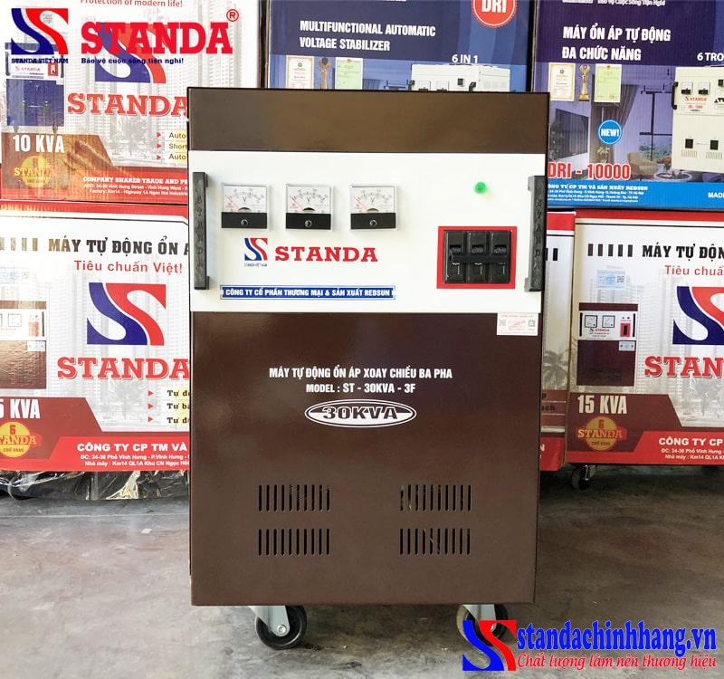 Ổn áp Standa 30KVA 3 pha đặc biệt đặt gầm cầu thang máy đặt