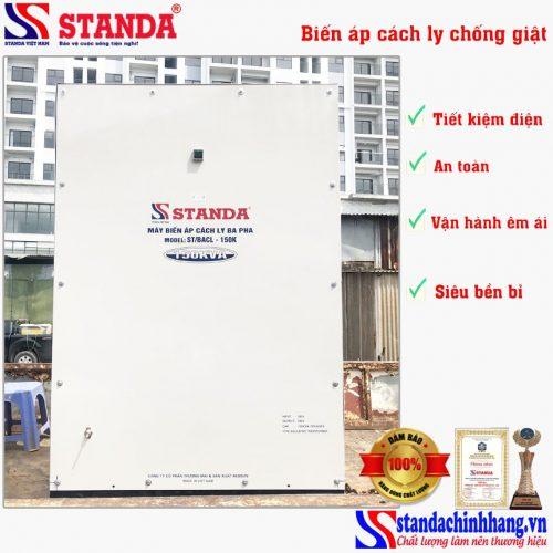 Biến áp cách ly 150KVA Standa 3 pha hàng đặt