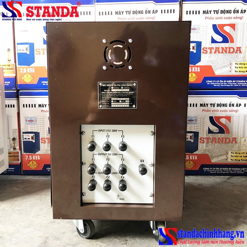 Cần chú ý gì khi sử dụng biến áp tự ngẫu STANDA 50KVA 3 pha