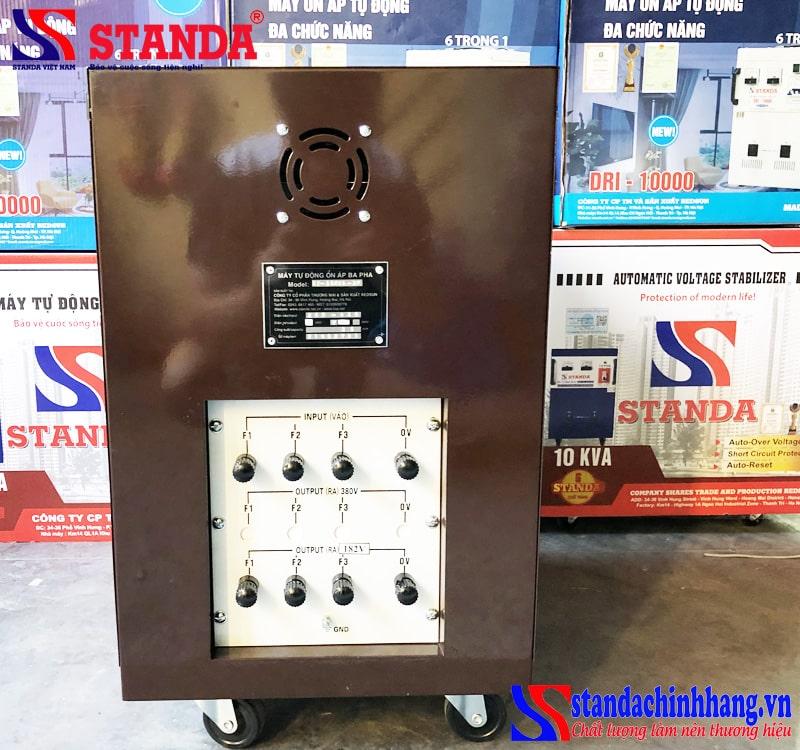 Ổn áp Standa 35KVA 3pha máy đặt theo yêu cầu của khách hàng