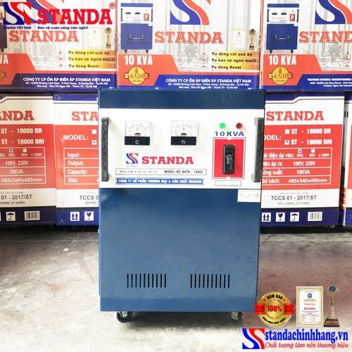 Biến áp tự ngẫu Standa 10KVA tốt nhất siêu bền chạy khỏe tiết kiệm điện