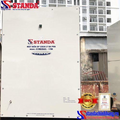 Biến áp cách ly Standa 170KVA chất lượng tốt – bền bỉ – tiết kiệm điện hàng đặt