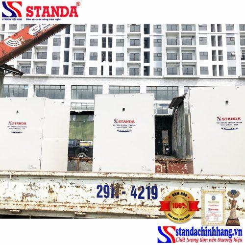 Biến áp cách ly Standa lắp đặt cho nhà máy sản xuất bao bì