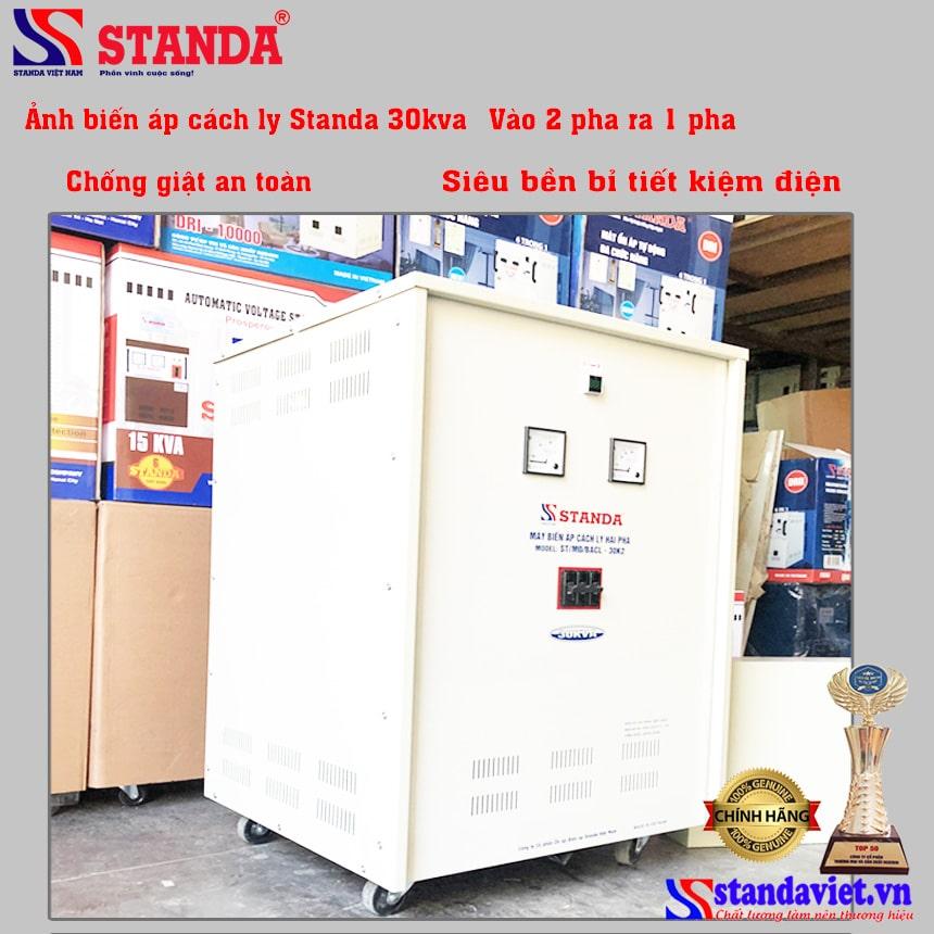 Biến áp cách ly STANDA 3 pha chất lượng tốt nhất thị trường