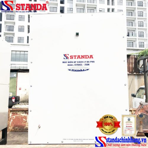 Biến áp cách ly Standa 250KVA – an toàn bền bỉ siêu tiết kiệm điện