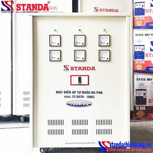 Biến áp tự ngẫu Standa 100KVA 3 pha tốt nhất siêu bền