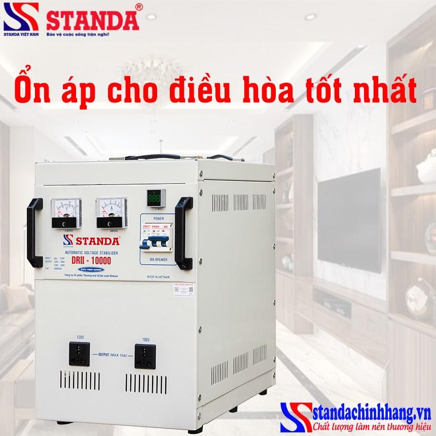 Ưu điểm của ổn áp dùng cho máy lạnh STANDA 10kva